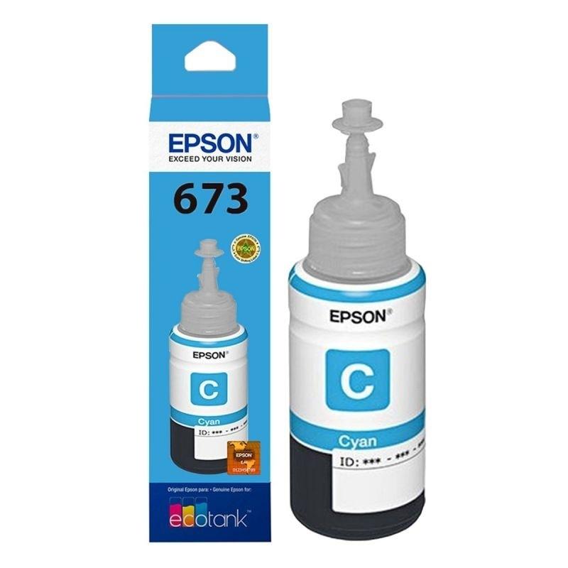 BOTELLA EPSON T673220-AL CYAN P/L800/805/1800