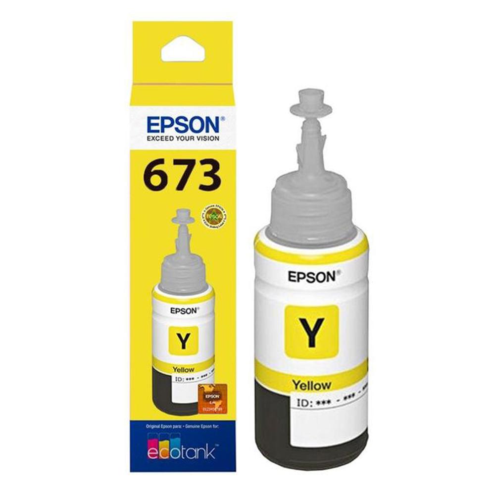 BOTELLA EPSON T673420-AL AMARILLO P/L800