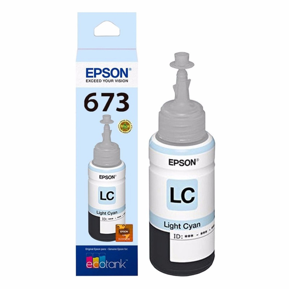 BOTELLA EPSON T673520-AL LIGHT CYAN P/L800