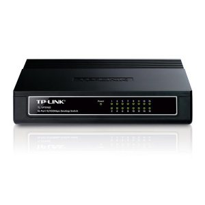 Switch Tp-link Tl-sf1016d - 16 Bocas 10100 De Escritorio