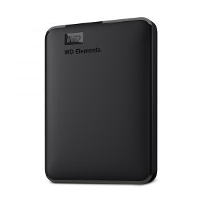 HD 1TB PORTABLE WD ELEMENTS BLACK USB 3