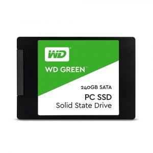 SSD 240GB WESTERN DIGITAL GREEN 2.5 545MB/S