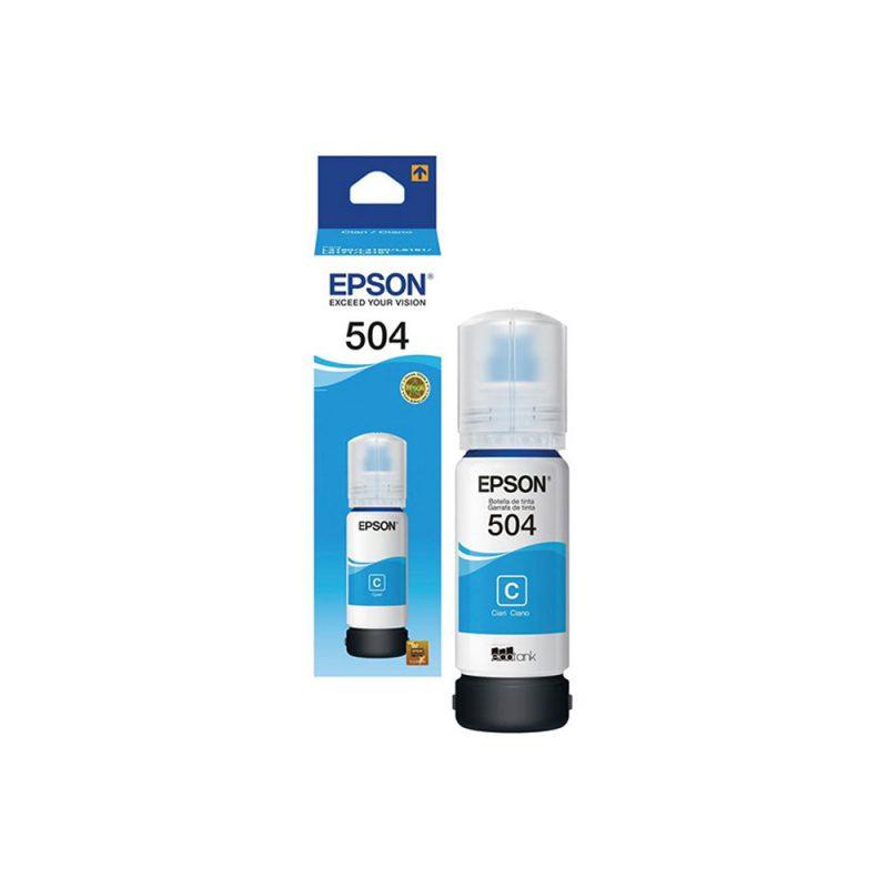 BOTELLA EPSON T504220-AL CYAN P/L4150/60/61/71/91