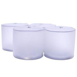 Set de 4 Luces de led inflables blancas Bayo
