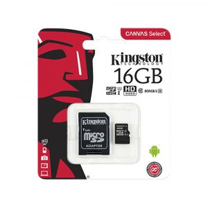 MICRO SD 16GB C10 KINGSTON CANVAS SELECT PLUS