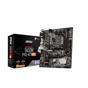 MB MSI AM4 B450M PRO-M2 MAX BOX M-ATX