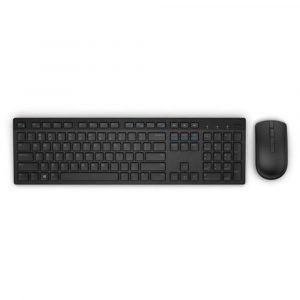 TEC+MOUSE WIRELESS DELL  KM636 BLACK
