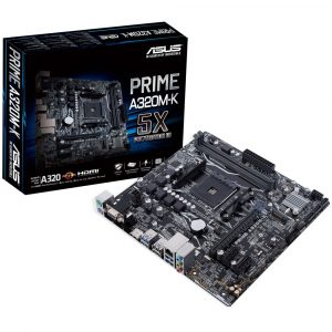 MB ASUS AM4 A320M-K BOX M-ATX