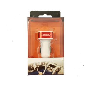 Adaptador Cargador para Auto 12V a 2 USB Pcbox