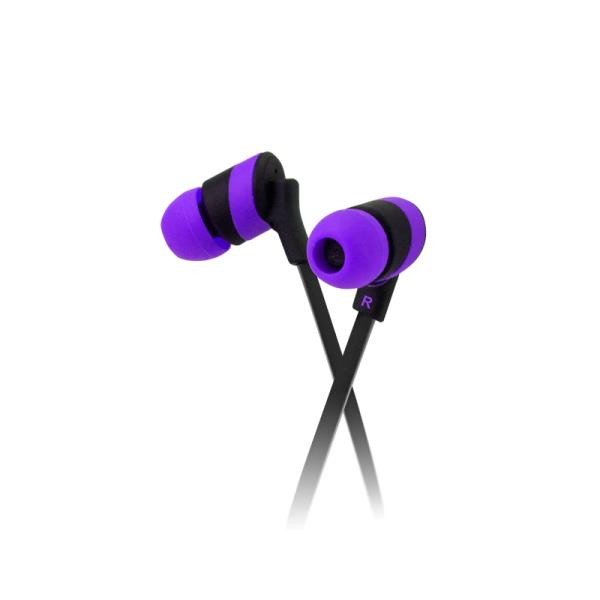 Auricular Klipxtreme In-ear Purple Kolorbudz