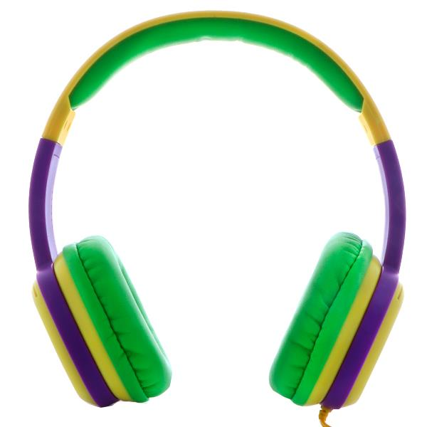 Auricular Xtech Sound Art Kid Control Volumen GreenPurple