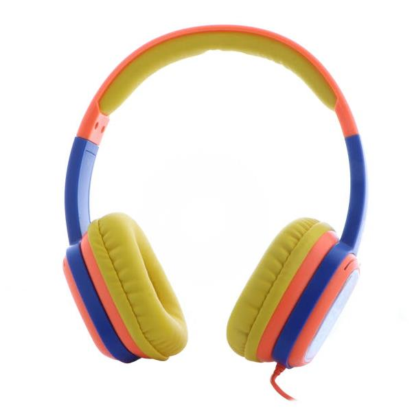 Auricular Xtech Sound Art Kid Control Volumen YellowOrange