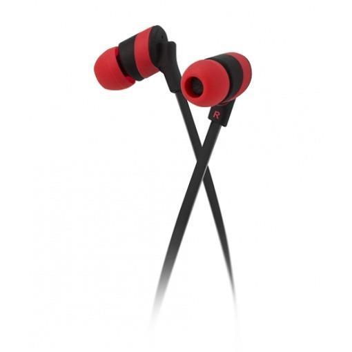 Auricular Klipxtreme In-Ear Red Kolorbudz