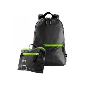 Mochila Klipxtreme Foldeable Waterproof Liteprck Black