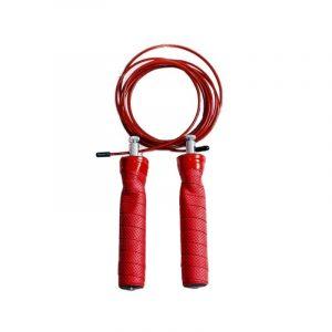 Soga de Salto 2 Rodamientos Kany Color Rojo