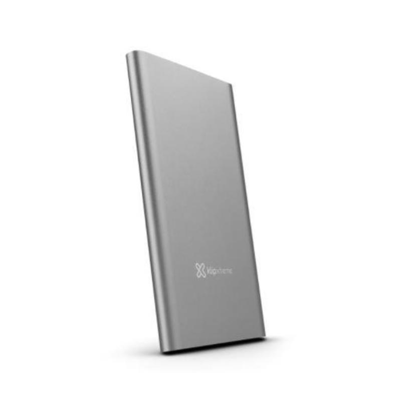 POWER BANK KLIPXTREME Bnk Pwr 10000mAh 31A total output Silver (KBH-195SV)
