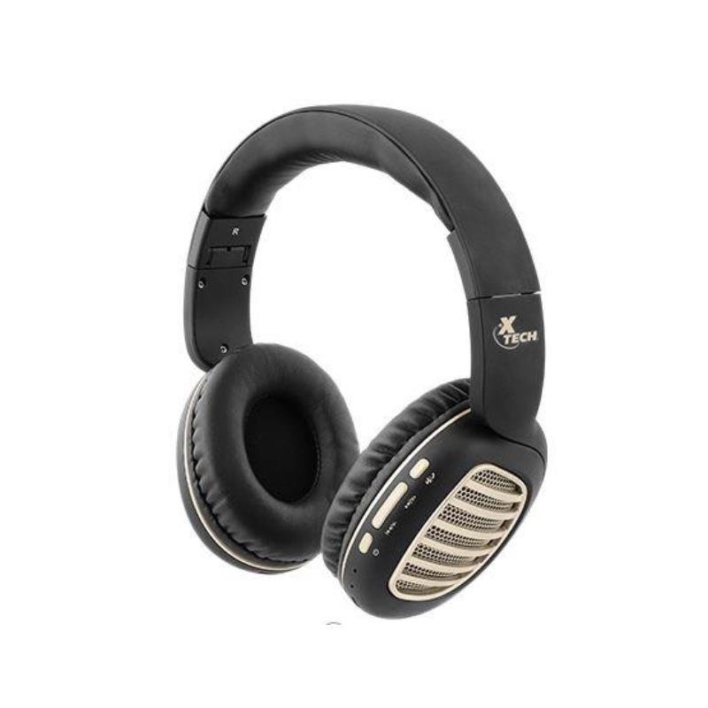 Auricular Xtech Palladium Headphones Wls Bt Black-gd Volmic