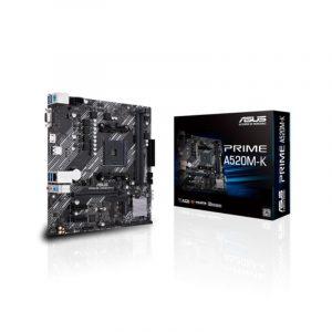 Mb Amd Am4 Asus Prime A520M-K