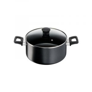 Olla Tefal 24Cm Tapa de Vidrio - Easy Cook