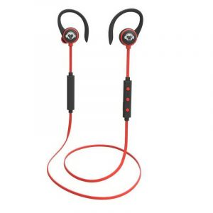 AURICULAR DEPORTIVO ROJO BLUETOOTH HOOK EAR MOONKI SOUND MH-H616BT