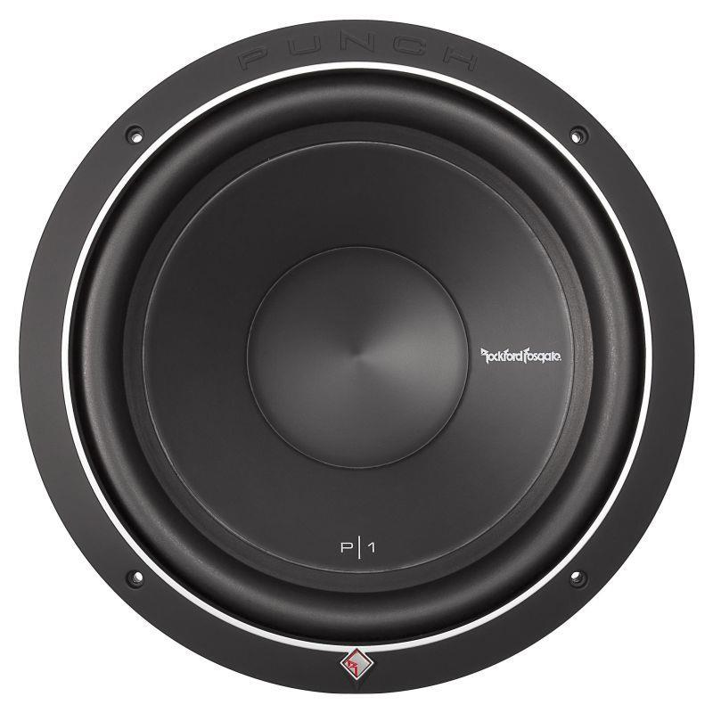"""SUBWOOFER 12"""" ROCKFORD FOSGATE PUNCH P1S4-12 500W 4OHM SVC"""