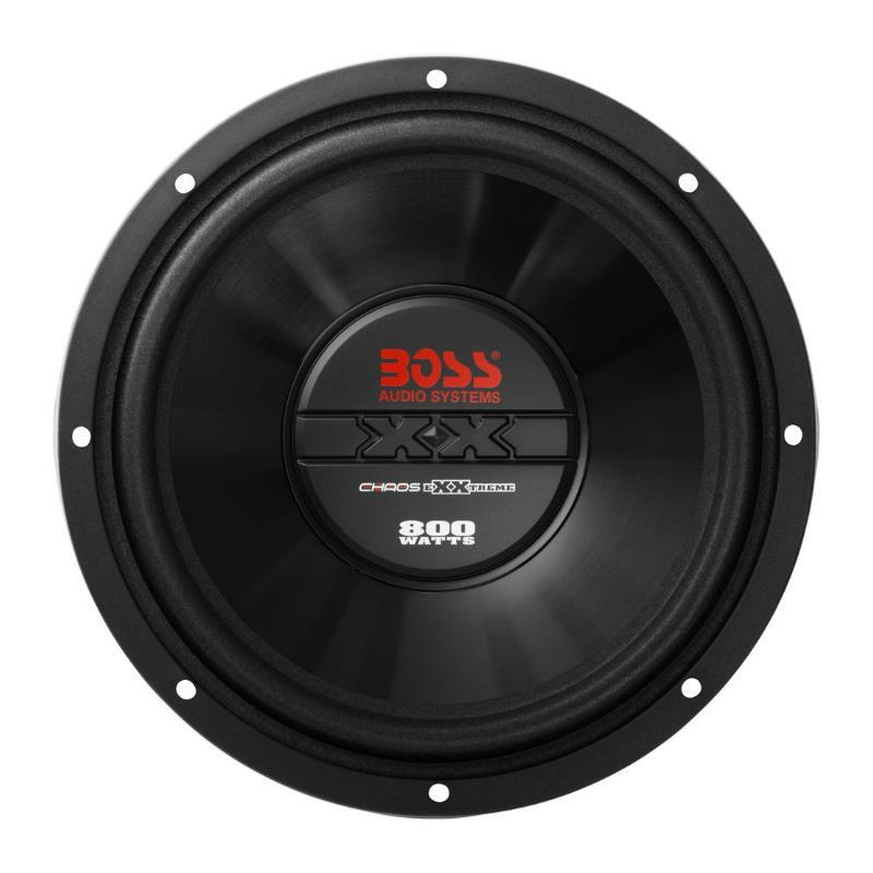 "SUBWOOFER BOSS CX12 SINGLE 12"" 800W"