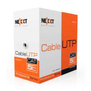 Nexxt UTP Cable 4 Pairs Cat 5e BL CM Type