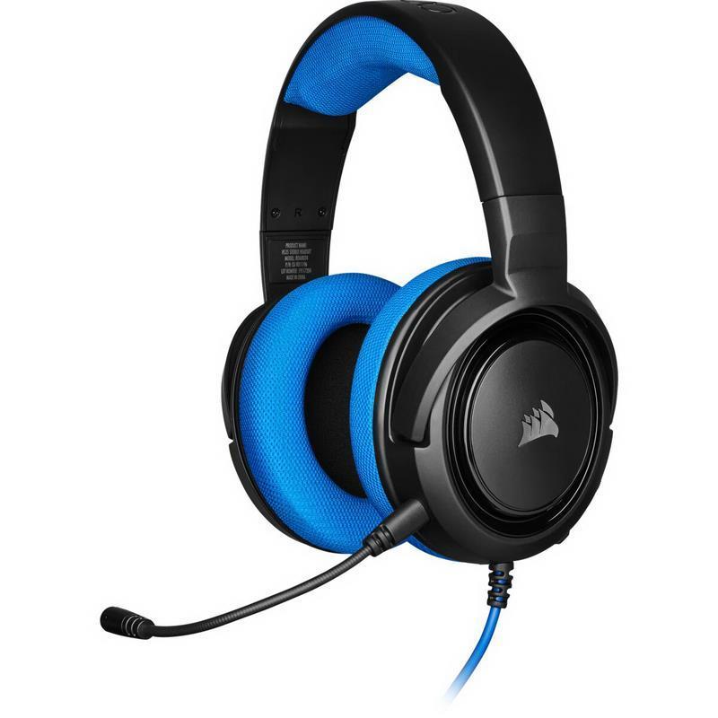 HEADSET CORSAIR HS35 BLUE