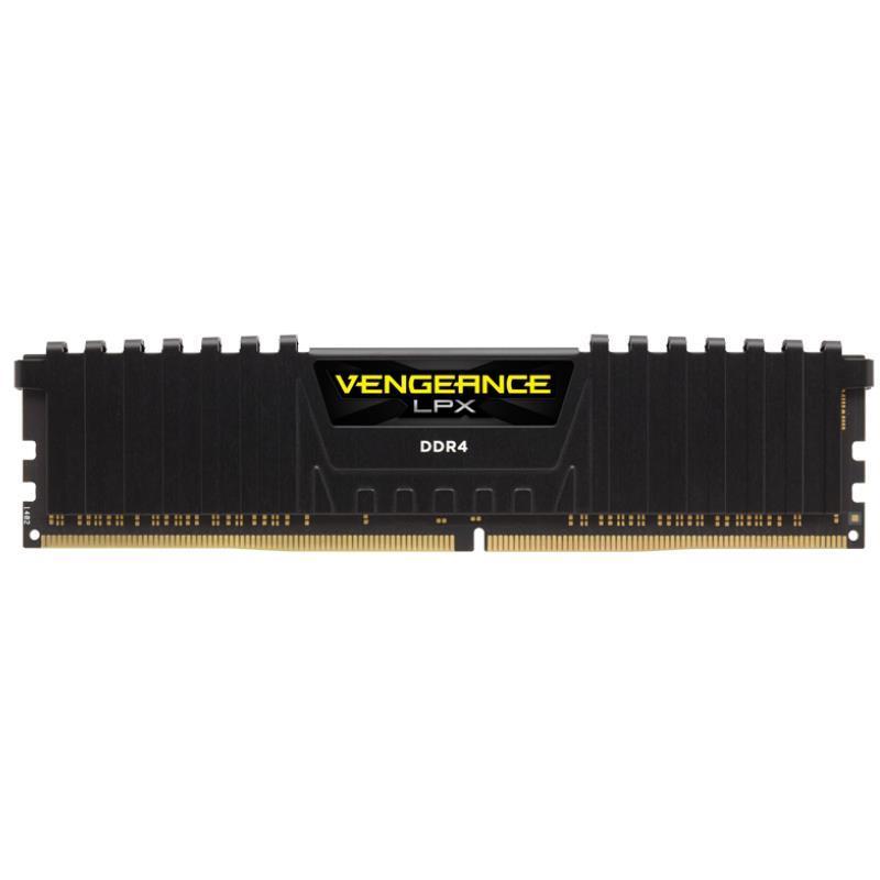 MEMORIA DDR4 16GB 3000 MHZ CORSAIR VENGEANCE LPX BLACK (NEGRA)