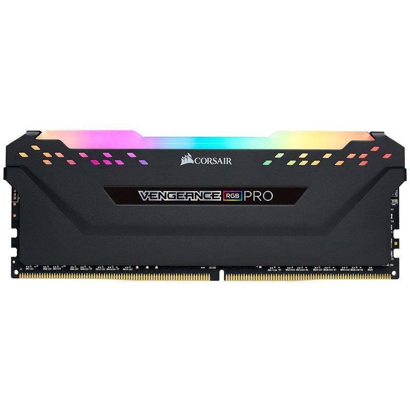 MEMORIA DDR4 2X8GB 3600 MHZ CORSAIR VENGEANCE LED RGB PRO (NEGRA)