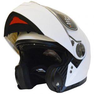 CASCO FLIP UP YOHE FF950 (S) WHITE GLOSS