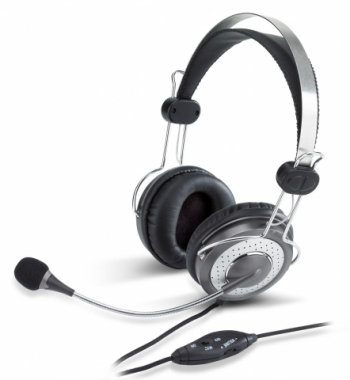 Auriculares con micrófono anula ruidos HS-04SU