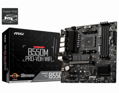 Motherboard (AM4) B550M PRO-VDH WIFI