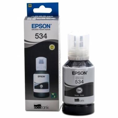 Botella de tinta Negra para Monocromáticas T534