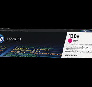 Cartucho de toner 130A Magenta LaserJet