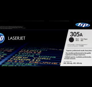 Cartucho de toner 305A Negro LaserJet