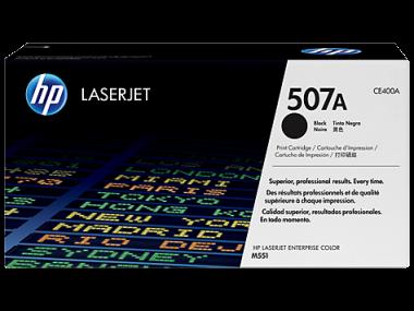Cartucho de toner 507A Negro LaserJet