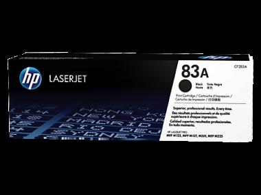 Cartucho de toner 83A Negro LaserJet