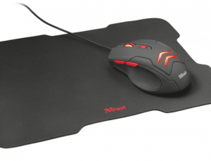 Combo Mouse y Mouse Pad Ziva Negro