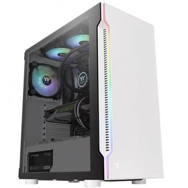 Gabinete H200 TG Snow Blanco - RGB