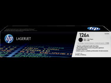 Cartucho de toner 126A Negro LaserJet
