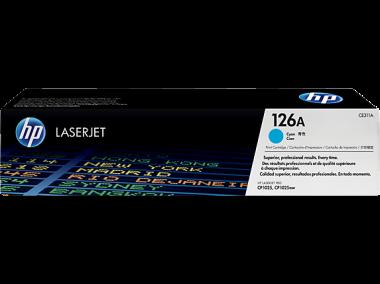 Cartucho de toner 126A Cian LaserJet