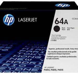Cartucho de toner 64A Negro LaserJet
