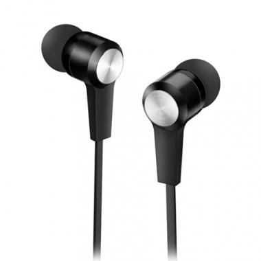 Auriculares HS-M228 con micrófono. Negro