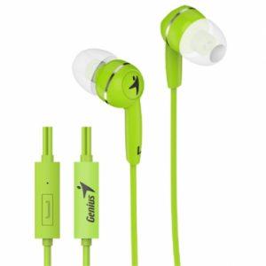 Auriculares HS-M320 con micrófono. Verde