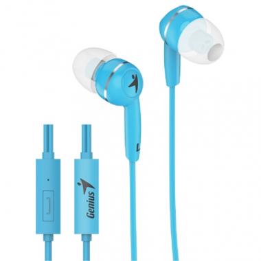 Auriculares HS-M320 con micrófono. Celeste