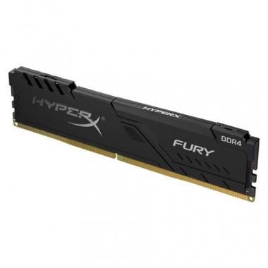 Memoria PC HyperX DDR4 4GB 2666 CL16 Fury Negra