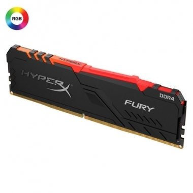 Memoria PC HyperX DDR4 8GB 2666 C16 Fury RGB