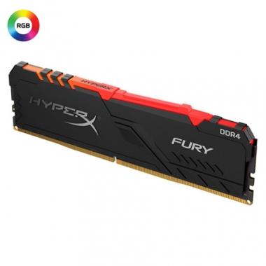 Memoria PC HyperX DDR4 8GB 3200 C16 Fury RGB