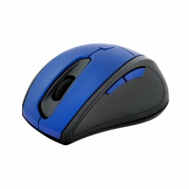 Mouse óptico inalámbrico ergonómico Azul